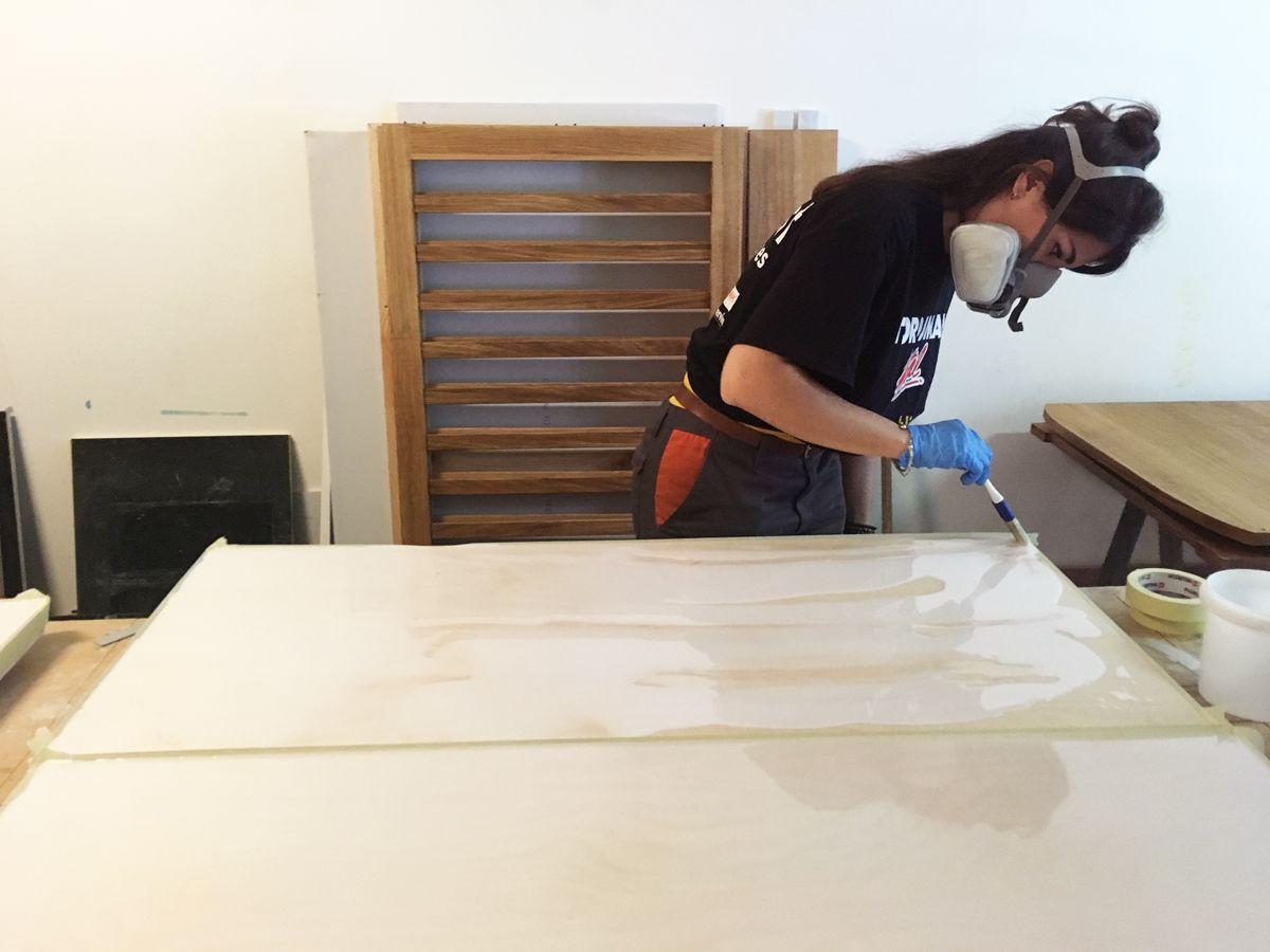 Meuble Avec Resine Epoxy ateliers synapses - fabrication d'objets et de mobilier sur